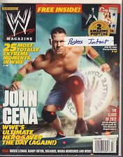 WWE Magazine july 2012 John Cena, Brock Lesnar 040317nonDBE