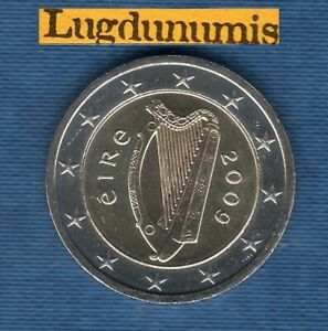 Irlande 2009 2 Euro SUP SPL provenant d'un rouleau - Eire