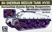 AFV CLUB 35030 - 1/35 US M4 SHERMAN HORIZONTAL VOLUTE SPRING SUSPENSION - NEU