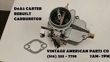 1938 1939 1940 1941 PLYMOUTH DODGE RESTORED CARBURETOR REBUILT D6A2 CARTER