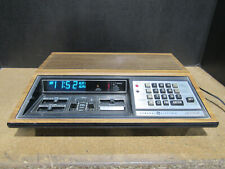 Vintage GE 7-4885B Programmable Digital Alarm Clock Radio Tested and Working