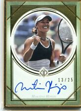 2020 Topps Transcendent Tennis Hall of Fame MARTINA HINGIS Gold Framed Auto #/25