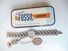 Schöne Armbanduhr__Fossil F2__Edelstahl__neu !