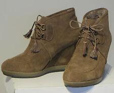 Bruno Premi ladies' suede & natural fur boots EU 39 / UK 6