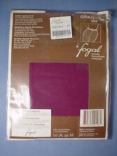 Fogal Style 108 Opaque Nylon Pantyhose Size Xtra Small in Lila