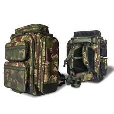 SABER DPM CAMO 90LTR XL RUCKSACK CARP OR PIKE FISHING BAG LUGGAGE HIKING SL37