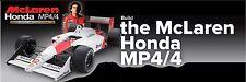 DeAGOSTINI McLaren Honda MP4/4 1/8 Scale Ayrton Senna Unbuild Model FULL KIT