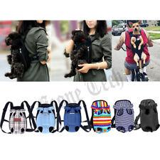 Pet Carrier Backpack Adjustable Front Cat Dog Legs Out Travel Shoulder Bag
