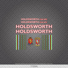 01184 Holdsworth Equipe Bicyclette Autocollants-Decals-Transfers