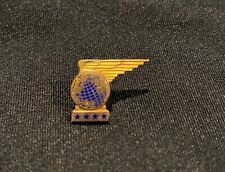 VINTAGE PAN AM AIRLINES 10k GOLD 4 STAR SERVICE EMPLOYEE PIN