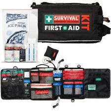 SURVIVAL Travel First Aid KIT - Designed for the Outdoor Enthusiasts