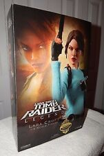 "Rare Sideshow Exclusive Tomb Raider Lara Croft 12"" Figure NIB Angelina Jolie WOW"