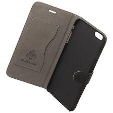BOOK CASE ELITE für Apple iPhone 6 Plus / 6S Plus - Cross Leather Black