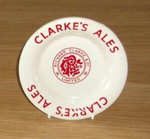 1950's RICHARD CLARKE..STOCKPORT..CLARKES ALES CERAMIC ASHTRAY..WADE REGICOR
