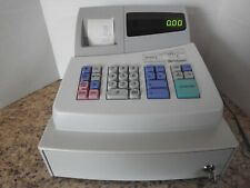 Sharp Xe A101 Electronic Cash Register With Key Tested Works