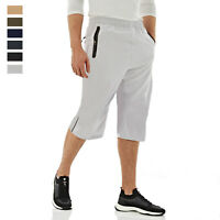 Mens Quick Dry 3/4 Hiking Pants Outdoor Running Sport Gym Workout Fitness Shorts
