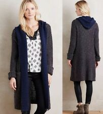 NEW Anthropologie Hooded Lodge Cardigan Sweater Coat Size XS