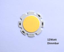 High Power cob LED chip 12 vatios regulable naturaleza blanco 1200 lúmenes, lámpara focal