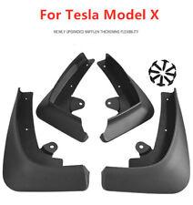 4x Car Mud Flaps Splash Guard Fender Mudguard For Tesla Model X 2019 + Screws