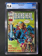 Death's Head II #1 CGC 9.4 (1992) - X-Men appearance