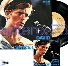 """DAVID BOWIE """"SPACE ODDITY"""" RARE 45RPM MADE IN ITALY - MINT"""