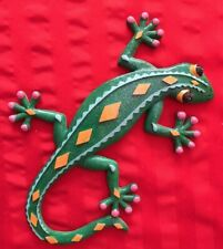 ceramic lizard sculpture