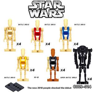 24Pcs Star Wars Super battle droid Minifigures Lego fig Blocks Kids Toy AU