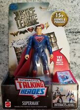 """SUPERMAN 6"""" inch DC INTERACTIVE TALKING JUSTICE LEAGUE MOVIE ACTION FIGURE"""