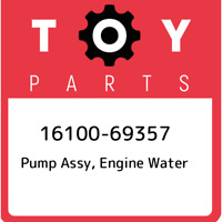 16100-69357 Toyota Pump assy, engine water 1610069357, New Genuine OEM Part