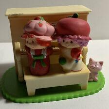 Strawberry Shortcake Vintage 1981 PIANO MUSIC BOX, Plays Love Story Theme