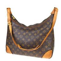 Auth LOUIS VUITTON Boulogne 35 Shoulder Bag Monogram Leather BN M51260 32MB433
