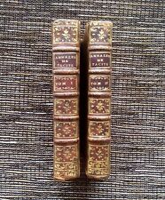 VERY RARE VINTAGE 1768 Tibere des Annales de Tacite: Toma I, Toma II, Tacitus