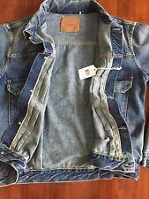 Levis 507 Vintage ClothinG Type II XX BIG E Selvedge Cone Denim Jacket ( S )$385
