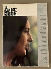 Vtg. Joan Baez Songbook Piano Vocals Lyrics Sheet Music Song Book 1964-66 Songs