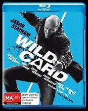 Wild Card (Blu-ray, 2015) Jason Stratham  New, ExRetail Stock, Genuine D54