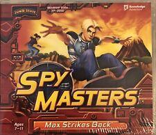 Spy Masters Max Strikes Back Pc Brand New Win10 8 7 XP