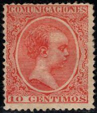1889.MH.Ed:*218.Pelón.10 cts bermellón