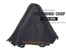 For Audi A4 B8 07-15 Gear Stick Gaiter Black Genuine Leather