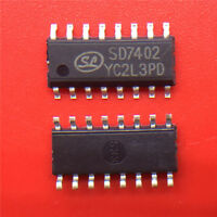 SD7402=HD0802A original SMD audio amplifier
