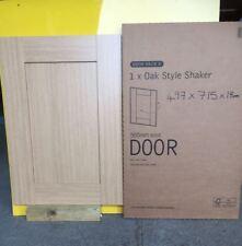 OAK STYLE SHAKER KITCHEN  WALL BASE DOORS 500X720mm  PACK B