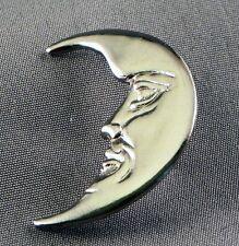 Metal Enamel Pin Badge Brooch Moon Man in the Moon