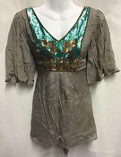 Monsoon Women's Tunic, Kaftan V Neck Hip Length Tops & Shirts