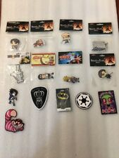 Lot 14 Attack On Titan/Naruto/Soul Eater Patch+bio world Necklace Etc...