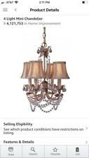 Minka-Lavery 3128-479 Four Lamp Mini Chandelier (open Box)