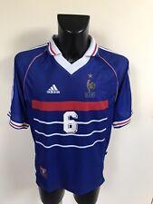Maillot Foot Ancien Equipe De France 98 Numero Djorkaeff Taille L