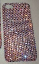 CRYSTAL RARE 100% AB CASE COVER FOR  IPHONE 10 X Made W 100% SWAROVSKI CRYSTALS