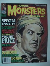 FAMOUS MONSTERS OF FILMLAND SPECIAL ISSUE - KARLOFF ENGLISH MAGAZINE # 203 1994