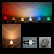 LED 0,6W E14 klar gelb farbig Lampe Kühlschrank Signal