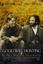 Good Will Hunting movie poster Matt Damon, Robin Williams poster 11 x 17 inches