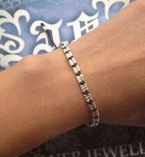 Handmade Friendship Bracelet Braided Wax String silver bead adjustable EBE1001